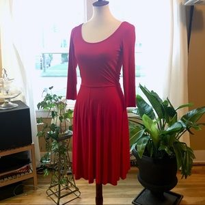 Calvin Klein Classic Red Dress